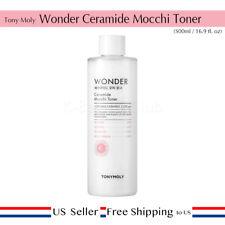 Tonymoly Wonder Ceramide Mocchi Toner 500ml Skin Moisturizing Hydrating [USA]