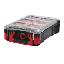 Milwaukee 4932464083 Packout Compact Organiser Case, Red