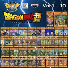 DRAGONBALL SUPER WCF World Collectable Figure SERIES vol.1-10 Full set + MEGA