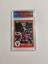 1985 STAR Michael Jordan Rookie ROY ACEO Novelty Card Dunk Gatorade Bulls 101 RP