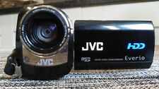 JVC EVERIO GZ-MG 465BE 60GB HDD CAMCORDER+ACCESSORIES+2 BATTERIES+CARRIER BAG