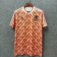 1988 Netherlands Home Retro Soccer Jersey