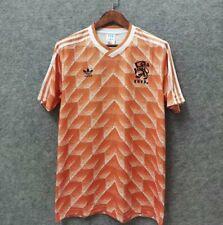 1988 Netherlands Home Retro Soccer Jersey