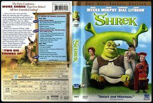 Shrek (DVD, 2001, 2-Disc Set, Special Edition) - Region 1