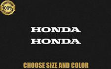 Honda Logo NEW Vinyl Decal Car Truck 2X Window Sticker Motorcycle Racing Bumper