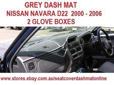 DASH MAT, DASH MAT, DASHBOARD COVER FIT  NISSAN NAVARA 2000 - 2006 D22,  GREY