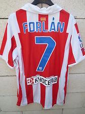Maillot ATLETICO MADRID camiseta NIKE Diego FORLAN n°7 LFP shirt jersey M