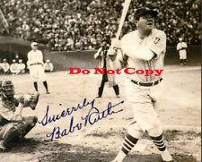 Babe Ruth Signed Autograph reprint 8x10
