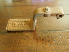 1920's Vintage Schrader Foot Pedal Tire Pressure Air Pump Tool Man Cave