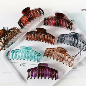 Ladies Large crystal Hair Claw Clips clamps hair claw Hair Accessories Women lot