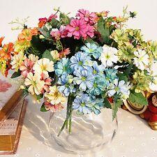 "13 Heads Artificial Silk Daisy Flower Bouquet Wedding Party Decor Home 11"""