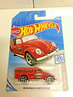 2019 Hot Wheels '49 Volkswagen RED VW Beetle Pickup PAINT ERROR NIP