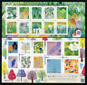 Japan 2017 MNH Gifts from Forest 2x 10v S/A M/S Birds Trees Nature Stamps