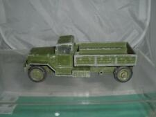 CORGI TOYS #1118 INTERNATIONAL 6X6 ARMY TRUCK NEEDS 2 WHEELS SPARES REPAIRS