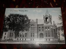 WABASHA MN - 2 OLD POSTCARDS - Orphanage - Hospital - Court House
