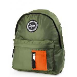 HYPE MA1 Bomber Backpack - Khaki/Orange School bag AW17416 HYPE Bags