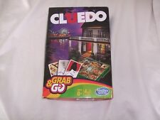 Grab & Go Travel Cluedo Game.Hasbro Gaming V.G.C.