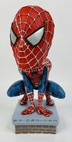 2002 NECA MARVEL's Spider Man The Movie Bobble Head NEW WITHOUT BOX