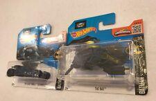 Hot Wheels - Batman The Dark Knight Batmobile & The Bat - Diecasts