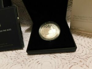 2017 Sapphire Jubilee of her Majesty the Queen £5 Silver Proof Piedfort Coin