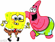 New listing Spongebob patrick applique iron on 8.5 inch