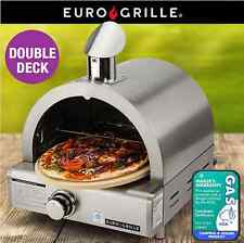NEW Pizza Oven-Gas Stainless Steel Outdoor LPG Grill Camping Cordierite Ceramic