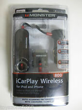 MONSTER iCarPlay Wireless 800 FM Transmitter FACTORY SEALED !!!