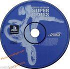 PlayStation 1 JEREMY MCGRATH SUPER CROSS jeu courses motos psx ps1 ps2 PAL testé