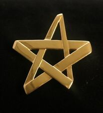 Tiffany & Co. Paloma Picasso 18k Yellow Gold Large Star Brooch and Pendant