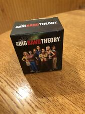 NEW IN BOX THE BIG BANG THEORY KIT GAME SHOT GLASS MAGNETS PATCH MINI BOOK