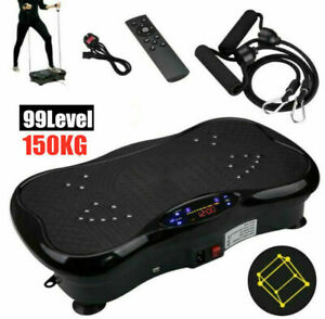 Vibration Platform Power Plate Body Shaper Massage Machine Fitness Exercise Gym!
