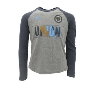 Philadelphia Union Official MLS Adidas Kids Youth Girls Size Long Sleeve Shirt