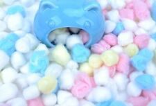 Hamster Small Pet Cotton Pad Dango 100pc Warm for Sleeping Bed Fill Nest Pouch