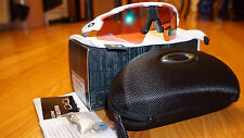 New Authentic Oakley RADAR PITCH EV Polished White/Prizm Golf OO9211-05