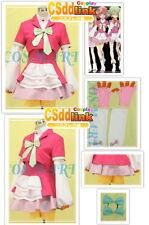 AKB0048 Nagisa Motomiya cosplay costume csddlink dark pink