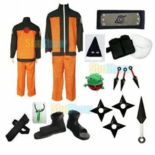 Naruto cosplay costume Naruto Uzumaki 2nd generation costume big set any size