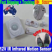 12V Infrared Motion Sensor Auto 3528 5050 5630 LED Switch + Bouns - $2 exp upgr