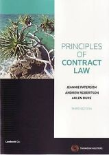 Principles of Contract Law by Jeannie Paterson, Andrew Robertson, Arlen Duke