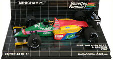 Minichamps BENETTON FORD B187 1987-Thierry Boutsen 1/43 Escala