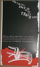 And You Will Know Us By The Trail Of Dead RARE 2002 CONCERT GIG POSTER Very rare