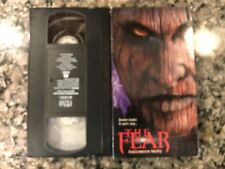 The Fear Vhs! 1995 Horror! Red Meat Serpents Lair Invitation To Hell