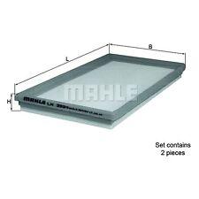 Filtre à air element-mahle lx 3594/S - 2 part set compatible avec: mercedes