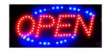 Led Neon Light Open Sign With Animation On/off and Power On/Off two Switchs f.