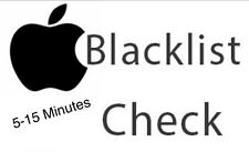 iPhones / IPads Clean/Blacklisted/Barred/Blocked Express Report Check