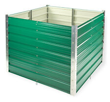 Dema Metall Hochbeet Rosendaal grün 99x99x80 Cm 47044