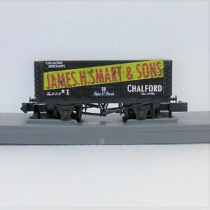 N Gauge James H Smart 7 plank wagon Limited Edition Peco - Brand New