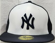 NEW YORK YANKEES~MLB~NEW ERA~59FIFTY~AUTHENTIC~DIAMOND ERA~WHITE,NAVY~7 3/4