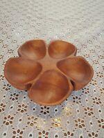 Hawaii No Ka Oi hand carved Kamani wood bowl