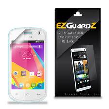 4X EZguardz LCD Screen Protector Skin Cover Shield HD 4X For BLU Dash 3.5 II