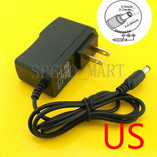 DC 6V 1A Power Supply AC Converter Adapter US plug charger  5.5*2.1 6W 1m